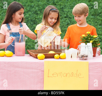 A lemonade stand - Stock Photo