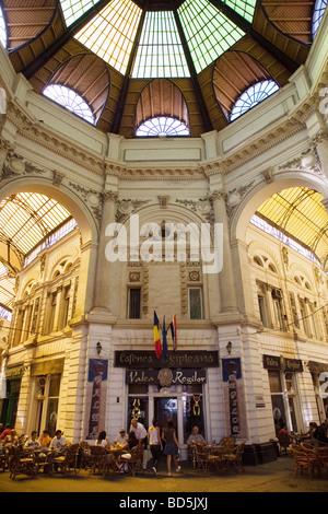 Villacross Passage Bucharest Romania - Stock Photo