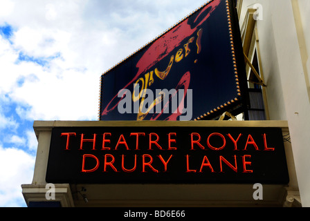 Theatre Royal Drury Lane London Britain July 09 - Stock Photo