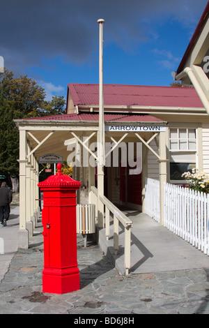 Arrowtown post office New Zealand - Stock Photo