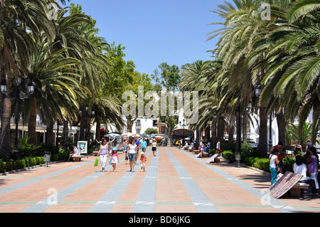 Balcon de Europa, Nerja, Costa del Sol, Malaga Province, Andalusia, Spain - Stock Photo