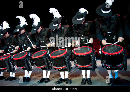 Edinburgh Military Tattoo 2009 Show, Scotland, UK - Stock Photo