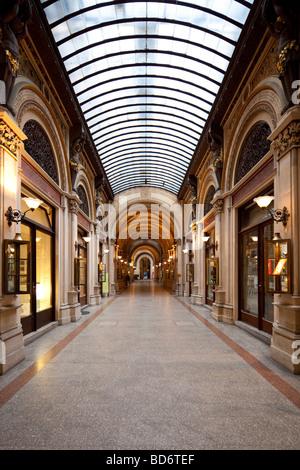 Freyung Passage, Palais Ferstel, Vienna, Austria - Stock Photo