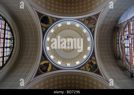 Cupola of the Nikolaikirche church in Potsdam, Brandenburg, Germany, Europe - Stock Photo
