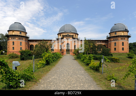 Domed building, Michelson Haus house, Potsdam Institute for Climate Impact Research, PIK, Potsdam, Brandenburg, - Stock Photo