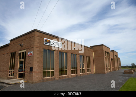 Somme heritage centre newtownards county down northern ireland uk - Stock Photo
