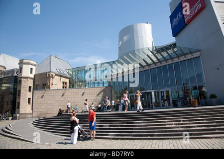 Schokoladenmuseum chocolate museum Cologne Germany - Stock Photo