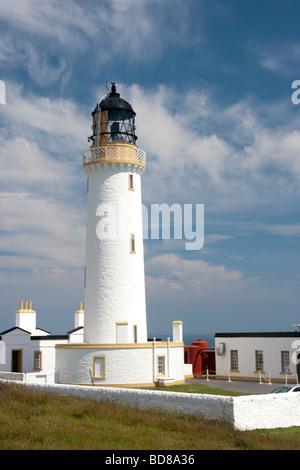 Mull of Galloway Lighthouse - Stock Photo