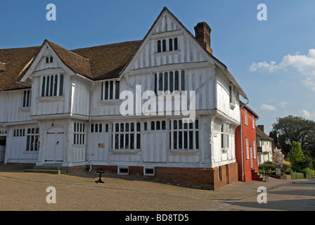 The Guildhall of Corpus Christi, Lavenham, Suffolk, UK. - Stock Photo