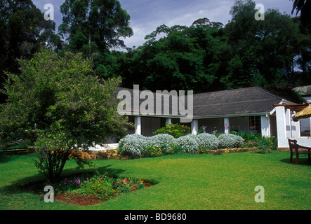 rooms and lodging, accommodations, lodge, museum, Rhodes Nyanga Hotel, former home of Cecil John Rhodes, Nyanga, - Stock Photo