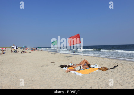 Cherry Grove Beach Fire Island Long Island Ny Stock Photo