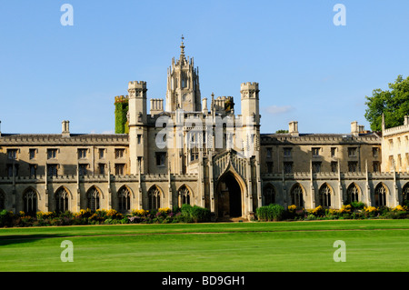 New court at St Johns College Cambridge England UK - Stock Photo