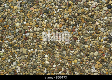 Waschbeton exposed aggregate concrete 03 - Stock Photo