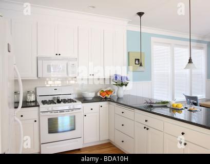 ... Beach House Kitchen Interior   Stock Photo