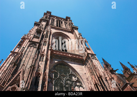 Strasbourg Cathedral Alsace Bas Rhin France - Stock Photo