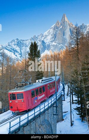 Chamonix Mont Blanc French Alps Haute Savoie Chamonix France - Stock Photo