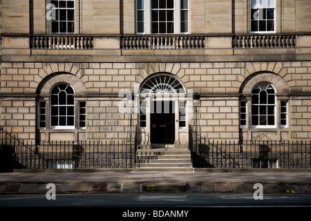 Edinburgh New Town architecture - Stock Photo