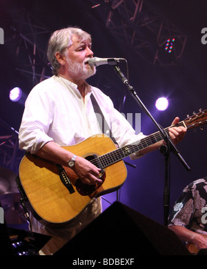Simon Nicol at Cropredy 2009 - Stock Photo