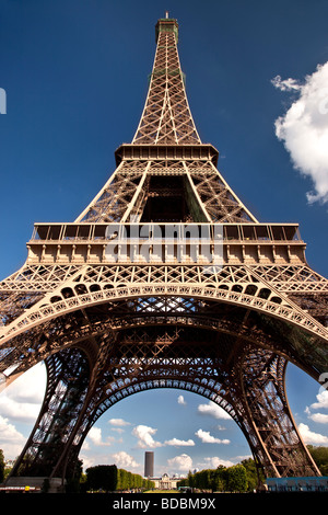 Eiffel Tower, Paris France - Stock Photo