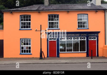 The Lifeboat Inn, Courtmacsherry, West Cork, Southwest Ireland, Eire - Stock Photo