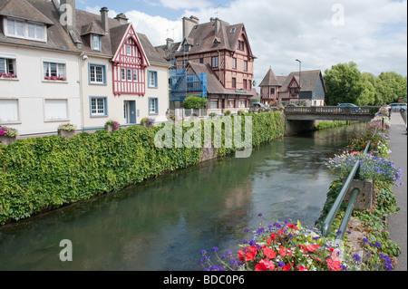 Pont lEvêque , Normandy France - Stock Photo