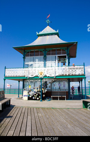 The Historic Pier at Clevedon Somerset England UK