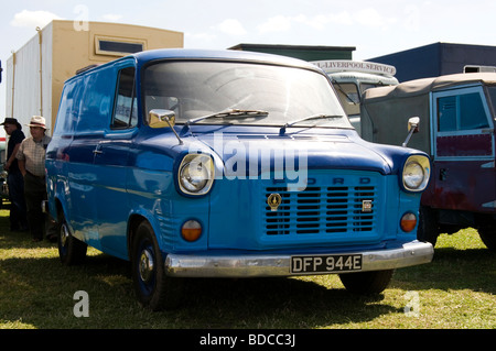 ford transit van vans transits mk 1 mark 1 one old classic road haulage vehicle - Stock Photo