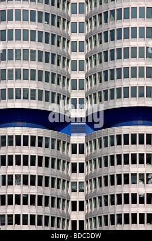 BMW Building, BMW Welt, Munich, Germany - Stock Photo