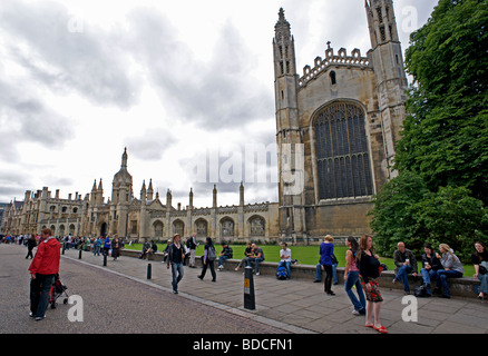 King's College chapel, Cambridge, UK. - Stock Photo