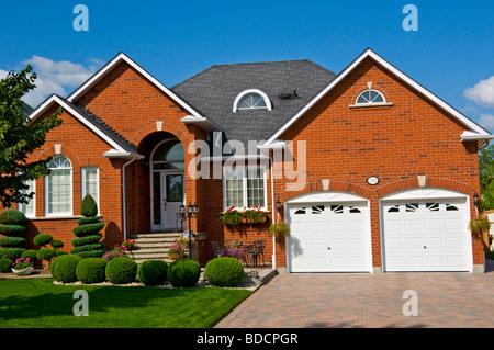 Suburban house Pickering Ontario Canada - Stock Photo