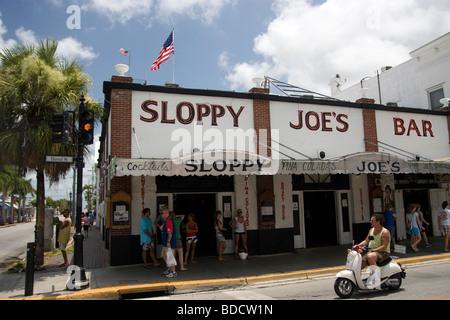 Sloppy Joe's Bar in Key West - Stock Photo