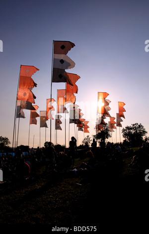 Glastonbury festival 2009 - Stock Photo