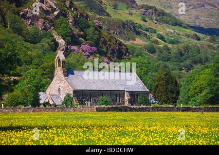 St Mary's Church Beddgelert Gwynedd Wales