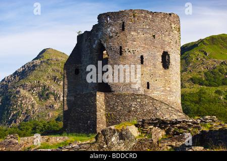 Castle Dolbadarn  Llanberis Gwynedd Wales - Stock Photo