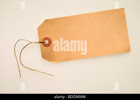 Luggage label - Stock Photo