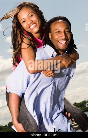 Happy young couple. - Stock Photo