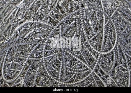 metal scrap - Stock Photo