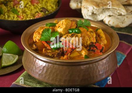 Chicken Jalfrezi India South Asia Food Stock Photo 25528621 Alamy