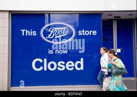 Boots chemist, London, United Kingdom - Stock Photo