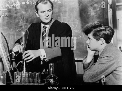 THE BROWNING VERSION  - 1951 GDF film with Nigel Patrick as the teacher - Stock Photo
