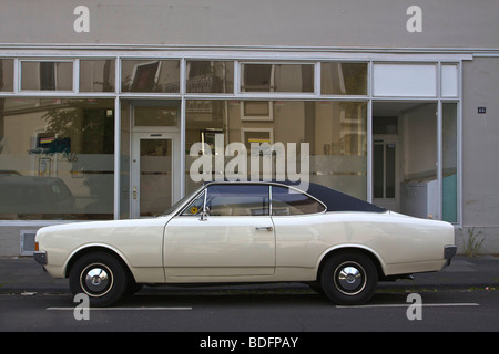 Opel Rekord 1900L Coupe from the 1960s - Stock Photo