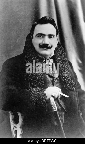 ENRICO CARUSO  (1873-1921) Italian operatic tenor - Stock Photo