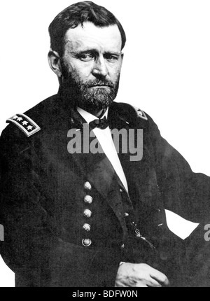 Ulysses s grant 18th president of the usa here as a general in the ulysses simpsopn grant 18th president of the usa photographed here as a general during the publicscrutiny Images