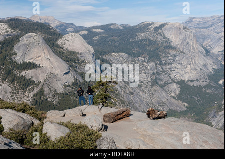 Glacier Point, Yosemite National Park, USA - Stock Photo