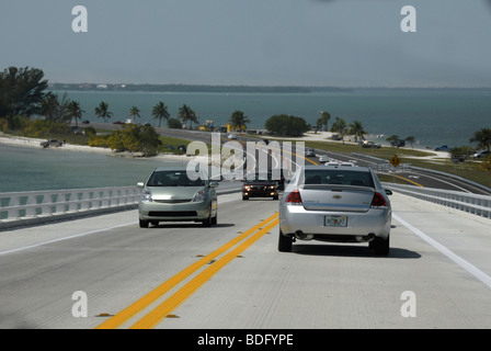 On the road in Florida. - Stock Photo