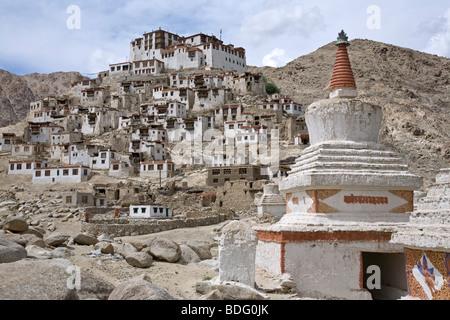 Chemrey monastery. Ladakh. India - Stock Photo