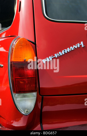 Detail of a VW Variant or Typ3, construction period from 1961 to 1973, Germany - Stock Photo