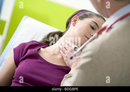 ENDOCRINOLOGY CONSULTATION - Stock Photo