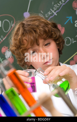 CHEMISTRY TEACHING - Stock Photo