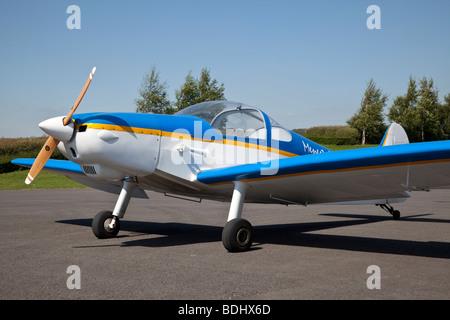 Nicollier HN-700 Menestrel II,  at Turweston - Stock Photo